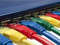 Local Area Network installation structured cabling