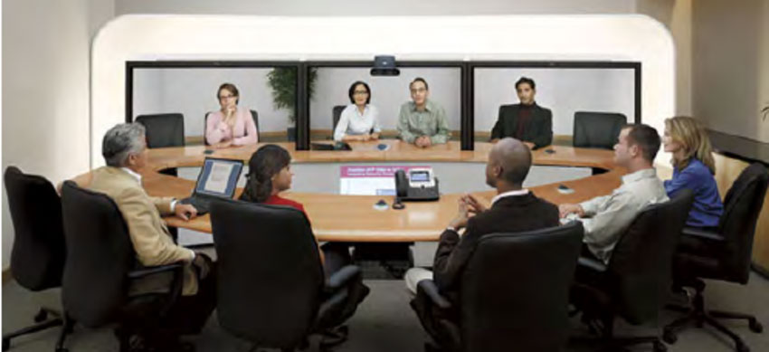 Cisco, Avaya, Polycom video conference system installlation