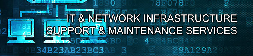 ICT and network infrastructure suppport